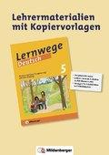 Lernwege Deutsch, 5. Schuljahr - Rechtschreiben / Grammatik / Zeichensetzung - Lehrermaterialien mit Kopiervorlagen