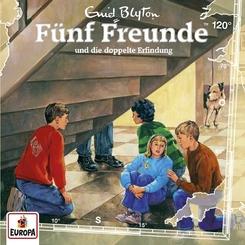 Fünf Freunde und die doppelte Erfindung, 1 Audio-CD