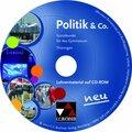 Politik & Co., Ausgabe Thüringen 2016: 9./10. Jahrgangsstufe, Lehrermaterial, CD-ROM