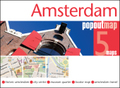 Amsterdam PopOut Map, 2 maps