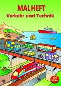 Malheft Verkehr und Technik