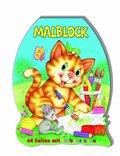 Malblock gestanzt - Katze