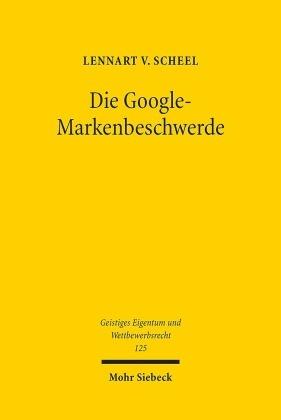 Die Google-Markenbeschwerde