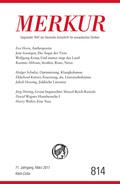 MERKUR Deutsche Zeitschrift für europäisches Denken - Nr.814