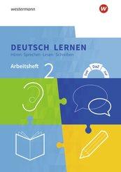 Deutsch lernen: Hören - Sprechen - Lesen - Schreiben: Arbeitsheft 2 - Basale Sprachfähigkeiten: DaM - DaZ - DaF