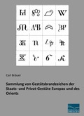 Sammlung von Gestütsbrandzeichen der Staats- und Privat-Gestüte Europas und des Orients