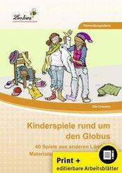 Kinderspiele rund um den Globus, m. CD-ROM