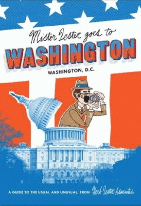 Mr Lester goes to Washington, D. C., map