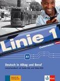 Linie 1, Ausgabe Österreich: Lehrerhandbuch A1 mit Audio-CDs und Video-DVD
