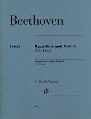 Beethoven, Ludwig van - Bagatelle a-moll WoO 59 (Für Elise)