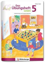 Das Übungsheft Lesen: Klasse 5