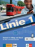 Linie 1, Ausgabe Österreich: Kurs- und Übungsbuch A1.1, m. DVD-ROM