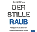 Der stille Raub, Audio-CD
