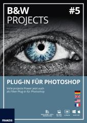 BLACK & WHITE projects No.5 Plug-In für Photoshop (Win & Mac), CD-ROM