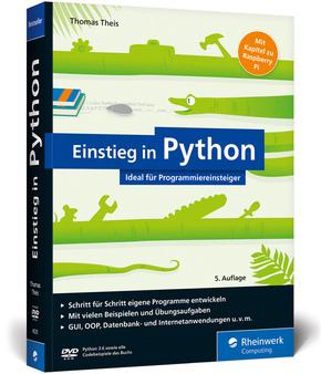 Einstieg in Python, m. DVD-ROM