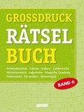 Großdruck Rätselbuch - Bd.6