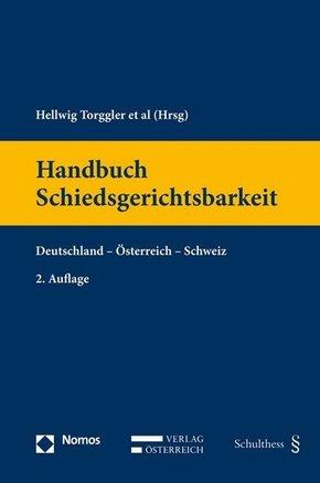 Handbuch Schiedsgerichtsbarkeit