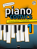piano Comics, m. Audio-CD - Bd.1