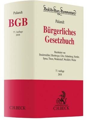 Bürgerliches Gesetzbuch (BGB), Kommentar