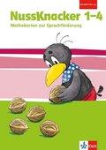 Nussknacker, Begleitheft zur Sprachförderung (2017): 1.-4 Schuljahr, Mathekarten