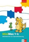 MiniMax: 1.-4. Schuljahr, Mathekarten Sprachförderung