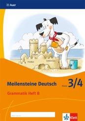 Meilensteine Deutsch (2017): 3/4. Schuljahr, Grammatik Heft B