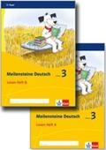Meilensteine Deutsch (2017): 3. Schuljahr, Lesen Heft A+B, 2 Bde.