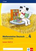 Meilensteine Deutsch in kleinen Schritten (2017): 4. Schuljahr, Lesen Heft A