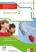 Green Line, Ausgabe Baden-Württemberg ab 2016: 6. Klasse, Fit für Tests und Klassenarbeiten, Arbeitsheft mit Lösungsheft und CD-ROM; Bd.2