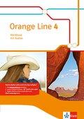 Orange Line. Ausgabe ab 2014: 8. Klasse, Workbook mit Audio-CD; .4