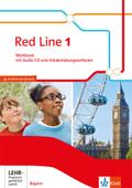 Red Line, Ausgabe Bayern 2017: 5. Klasse, Workbook mit Audio-CD und Vokabelübungssoftware; Bd.1