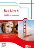Red Line, Ausgabe 2014: 8. Klasse, Workbook mit Audio-CD und Übungssoftware; Bd.4