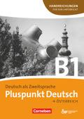 Pluspunkt Deutsch, Ausgabe Österreich: Handreichungen für den Unterricht mit Kopiervorlagen (Gesamtband); Bd.B1