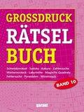 Grossdruck Rätselbuch - Bd.10