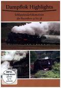Dampf Highlights Schlepptenderlokomotiven der Baureihen 41 bis 58, 1 DVD
