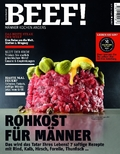 BEEF! - Für Männer mit Geschmack: Rohkost für Männer; .4/2017