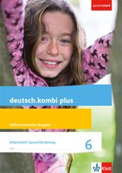 deutsch.kombi Plus, Allgemeine Ausgabe: 6. Schuljahr, Arbeitsheft Sprachförderung