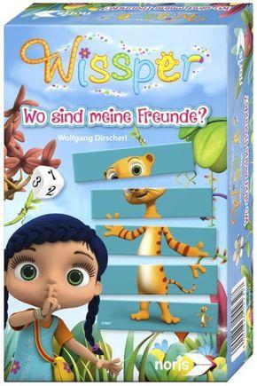 Wissper - Wo sind meine Freunde? (Kinderspiel)