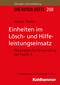 Die Roten Hefte: Einheiten im Lösch- und Hilfeleistungseinsatz; Bd.208