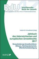 Jahrbuch des österreichischen und europäischen Umweltrechts 2017