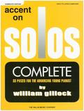 Accent On Solos - Complete Edition, 3 Books, for Piano