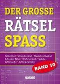 Der große Rätselspaß - Bd.10