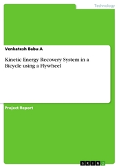 Kinetic Energy Recovery System in a Bicycle using a Flywheel