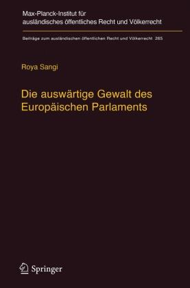 Die auswärtige Gewalt des Europäischen Parlaments