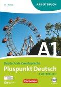 Pluspunkt Deutsch, Ausgabe Österreich: Arbeitsbuch mit Lösungen und Audio-CD (Gesamtband ); Bd.A1