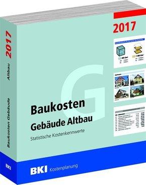 BKI Baukosten Gebäude Altbau 2017
