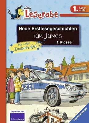Neue Erstlesegeschichten für Jungs 1. Klasse - Leserabe