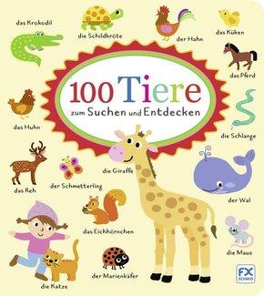 100 Tiere zum Suchen und Entdecken