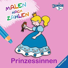 Malen nach Zahlen junior: Prinzessinnen