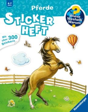 Pferde - Wieso? Weshalb? Warum? Stickerheft